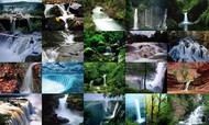 Waterfalls Photo Screensaver screenshot